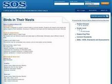 Birds in Their Nests Lesson Plan
