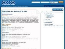 Discover the Atlantic States Lesson Plan