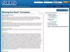 Raising the Roof! Tornadoes Lesson Plan