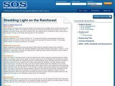 Shedding Light on the Rainforest Lesson Plan
