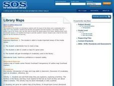 Library Maps Lesson Plan