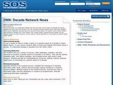 DNN: Decade Network News Lesson Plan