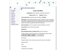 Cause and Effect Lesson Plan