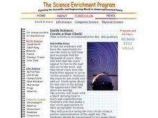 Earth Science: Create a Star Clock! Lesson Plan