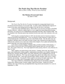 The Mission of Lewis and Clark Lesson Plan