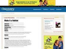 Make it a habitat Lesson Plan