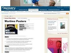Wartime Posters Lesson Plan