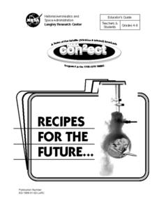 Recipes for the Future Lesson Plan