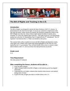 The Bill of Rights and Tracking in the U.S. Lesson Plan