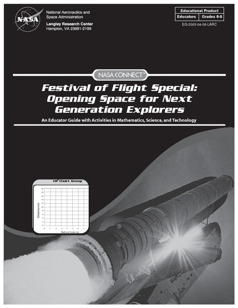 Festival of Flight Special: Opening Space for Next Generation Explorers Lesson Plan