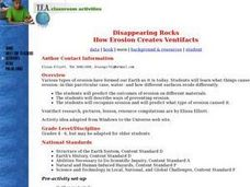 Disappearing Rocks Lesson Plan