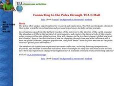 Connecting to the Poles through TEA E-Mail Lesson Plan