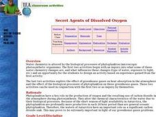Secret Agents of Dissolved Oxygen Lesson Plan