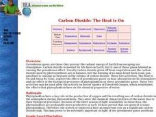 Carbon Dioxide: The Heat is On Lesson Plan