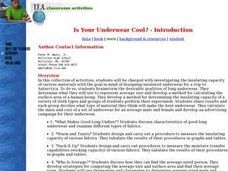 Is Your Underwear Cool? Lesson Plan