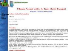 A Human-Powered Vehicle for Trans-Glacial Transport Lesson Plan