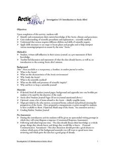 Environment: Arctic Climate and Geoscience Lesson Plan
