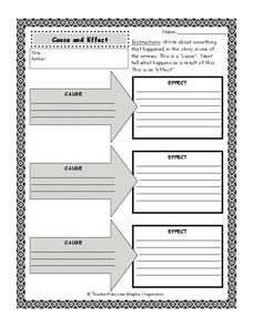 Cause and Effect Printables & Template