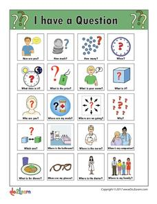 communication board printables template