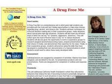 A Drug Free Me Worksheet