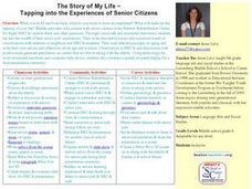 Tapping into the Experiences of Senior Citizens Lesson Plan