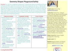 Geometry Shapes Playground Safety Lesson Plan