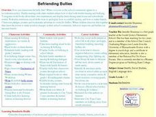 Befriending Bullies Lesson Plan