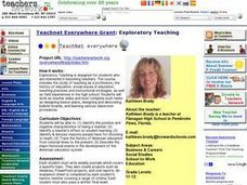 Exploratory Teaching Lesson Plan