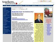 Got Biodiversity? Lesson Plan