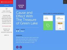 Cause and Effect with the Treasure of Green Lake Lesson Plan