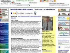 The Mystery of Exploration Lesson Plan