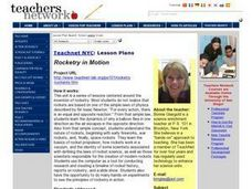 Rocketry in Motion Lesson Plan
