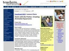 Swim with the Fishes: Creating Animated Aquariums Lesson Plan