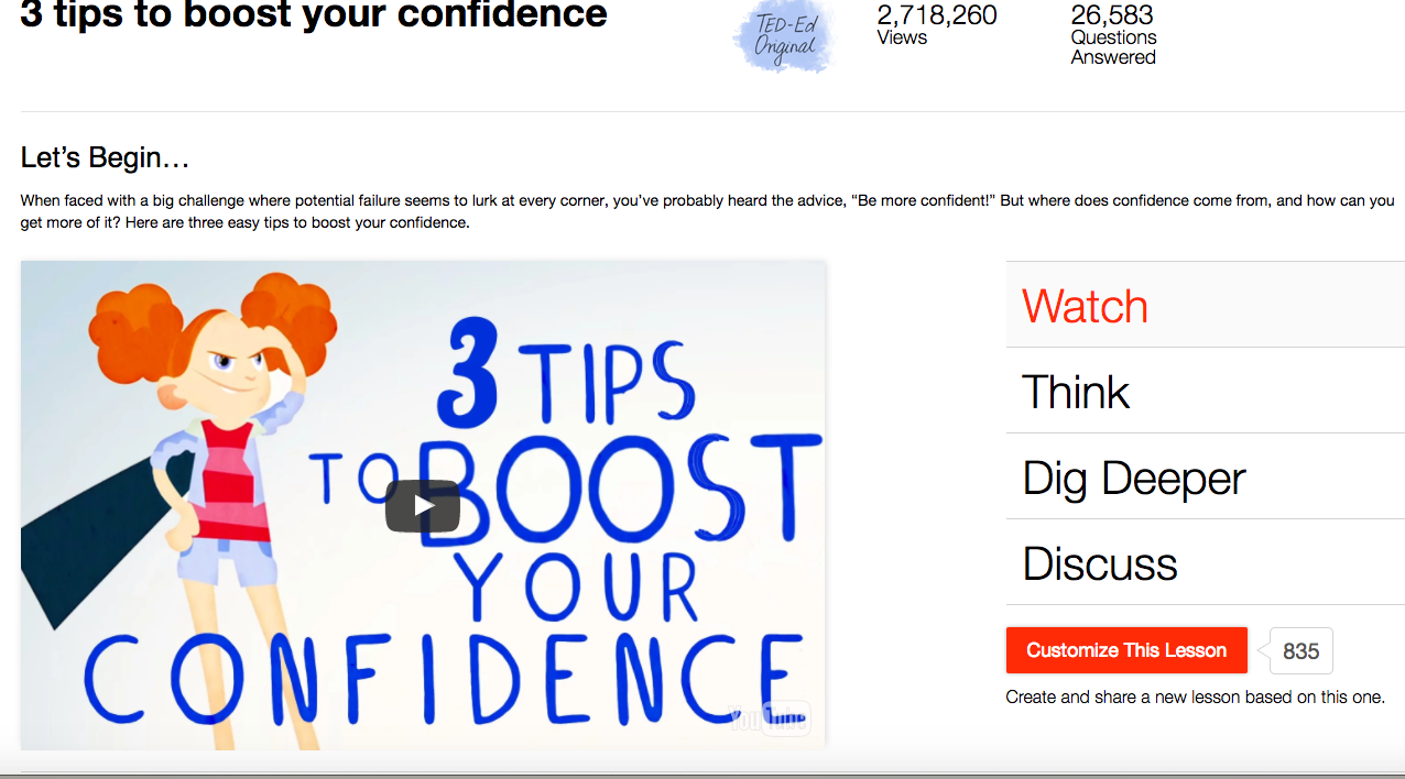 3 Tips to Boost Your Confidence Video