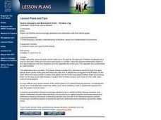 Space Concepts and Movement Drills Lesson Plan