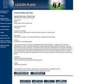 Physical Education: Tag - You're Wet! Lesson Plan