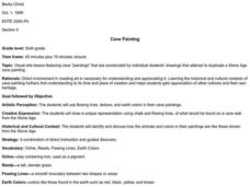 Cave Painting Lesson Plan