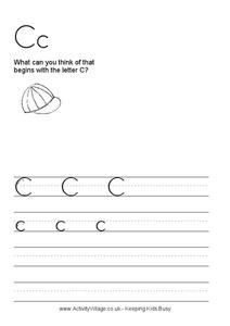 Cc Worksheet