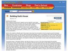 Building God's House Lesson Plan