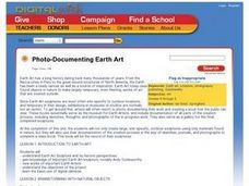 Photo-Documenting Earth Art Lesson Plan