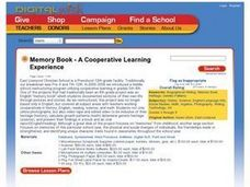 Memory Book - A Cooperative Learning Experience Lesson Plan