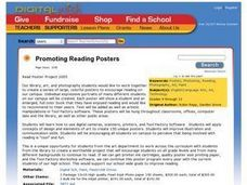 Promoting Reading Posters Lesson Plan