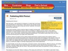 Publishing With Photos! Lesson Plan