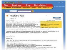 This Is Our Town Lesson Plan