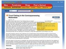 Trout Fishing in the Connoquenessing Watershed Lesson Plan