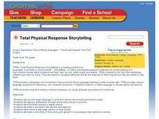 Total Physical Response Storytelling Lesson Plan