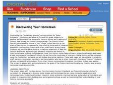 Discovering Your Hometown Lesson Plan