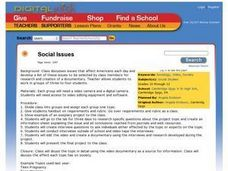 Social Issues Lesson Plan