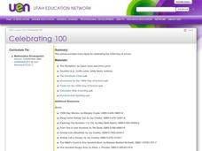 Celebrating 100 Lesson Plan