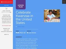 Celebrate Kwanzaa in the United States Lesson Plan
